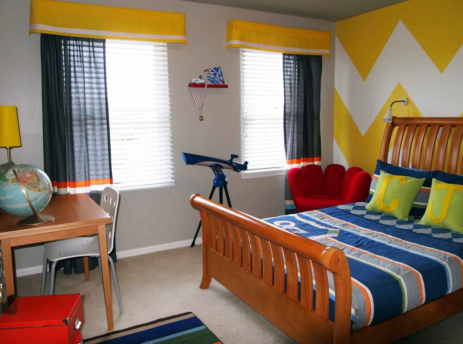 Kids Room Curtains Avoid Plain Colored Window Treatments