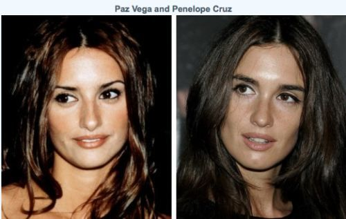 Paz Vega and Penelope Cruz