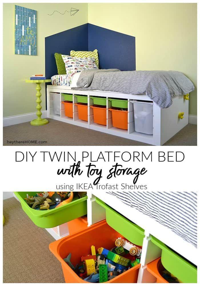 Diy Platform Bed With Storage Diy Platform Bed Platform Bed