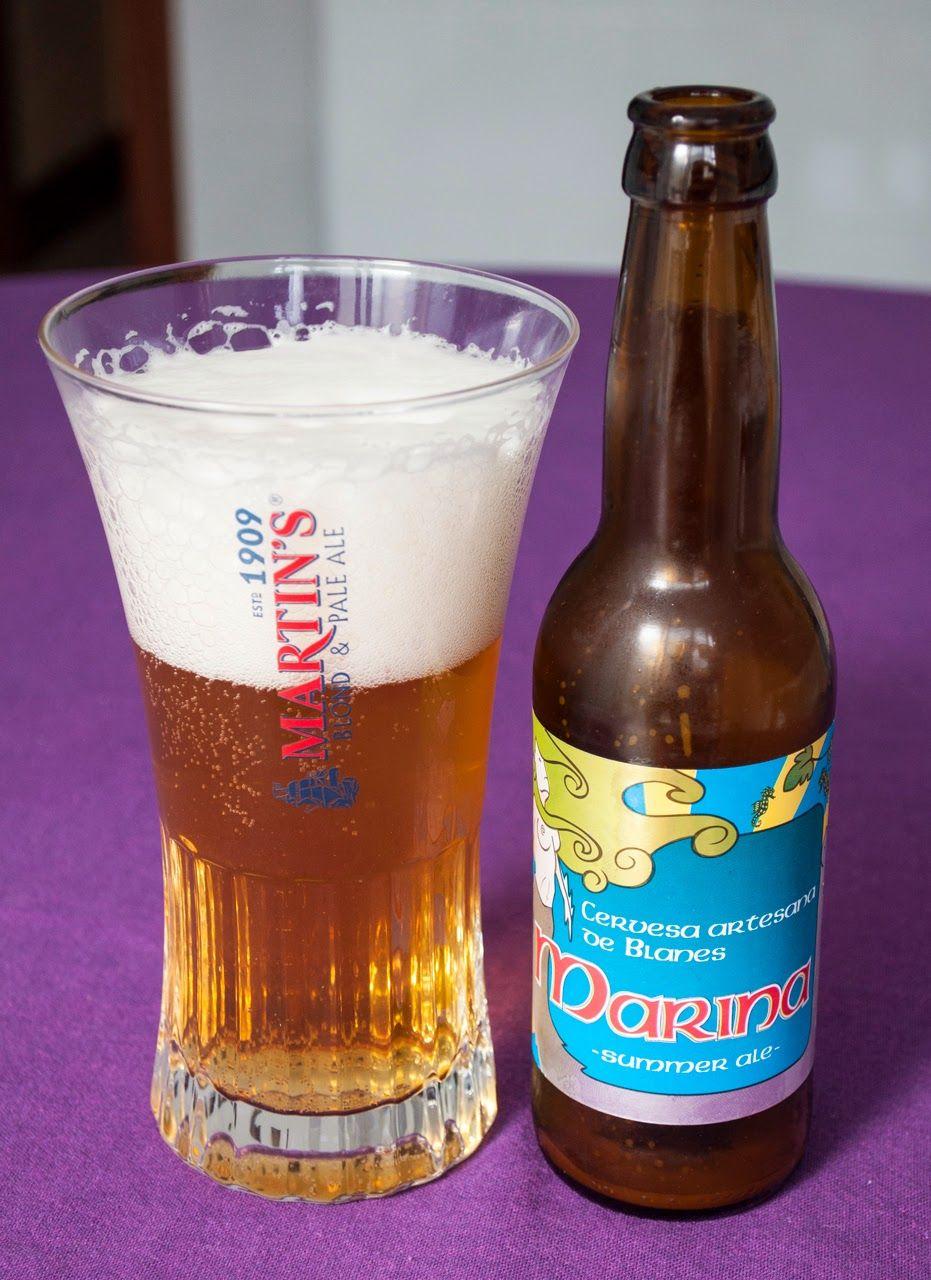 Marina Summer Ale. IPA. 6º