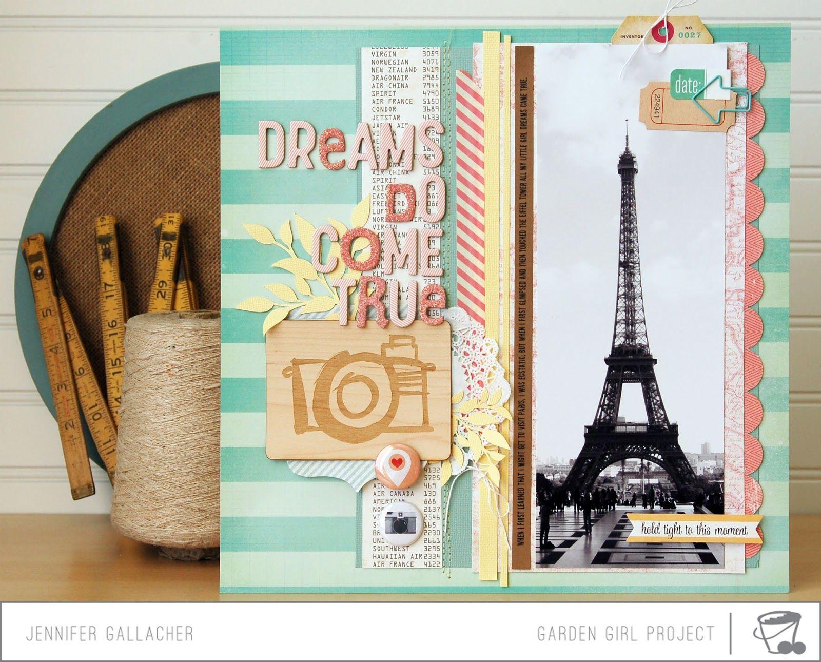 Europe scrapbook ideas - Make It Meaningful 7 Scrapbook Process Video Dreams Do Come True