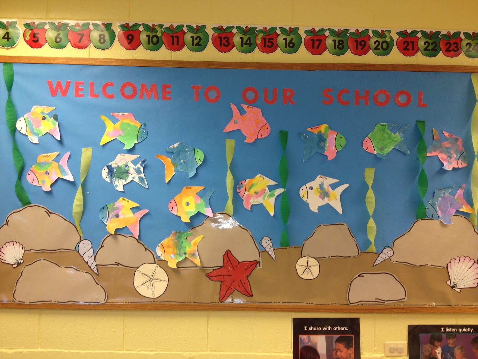 Preschool Bulletin Board Ideas