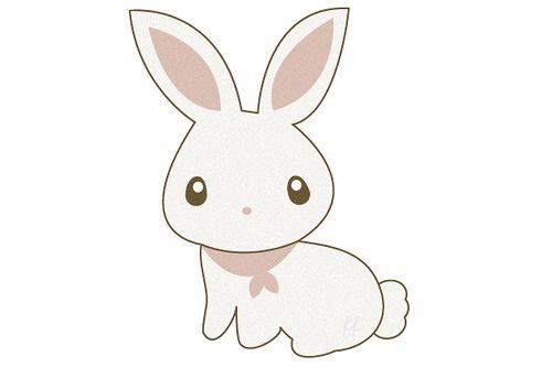 Cute Bunny In 2019 Illustrations Pinterest Cute Bunny Bunny