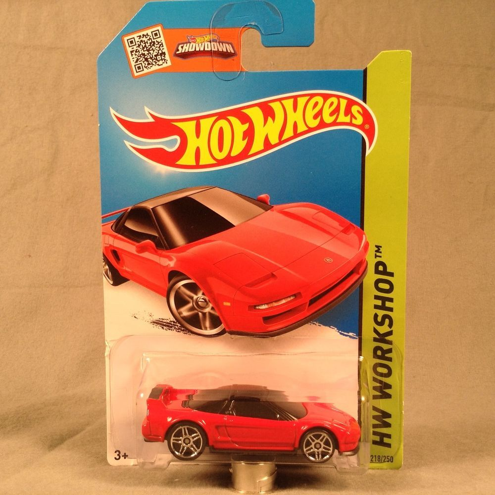Hot Wheels '90 Acura NSX Red HW Workshop HW Garage 2014