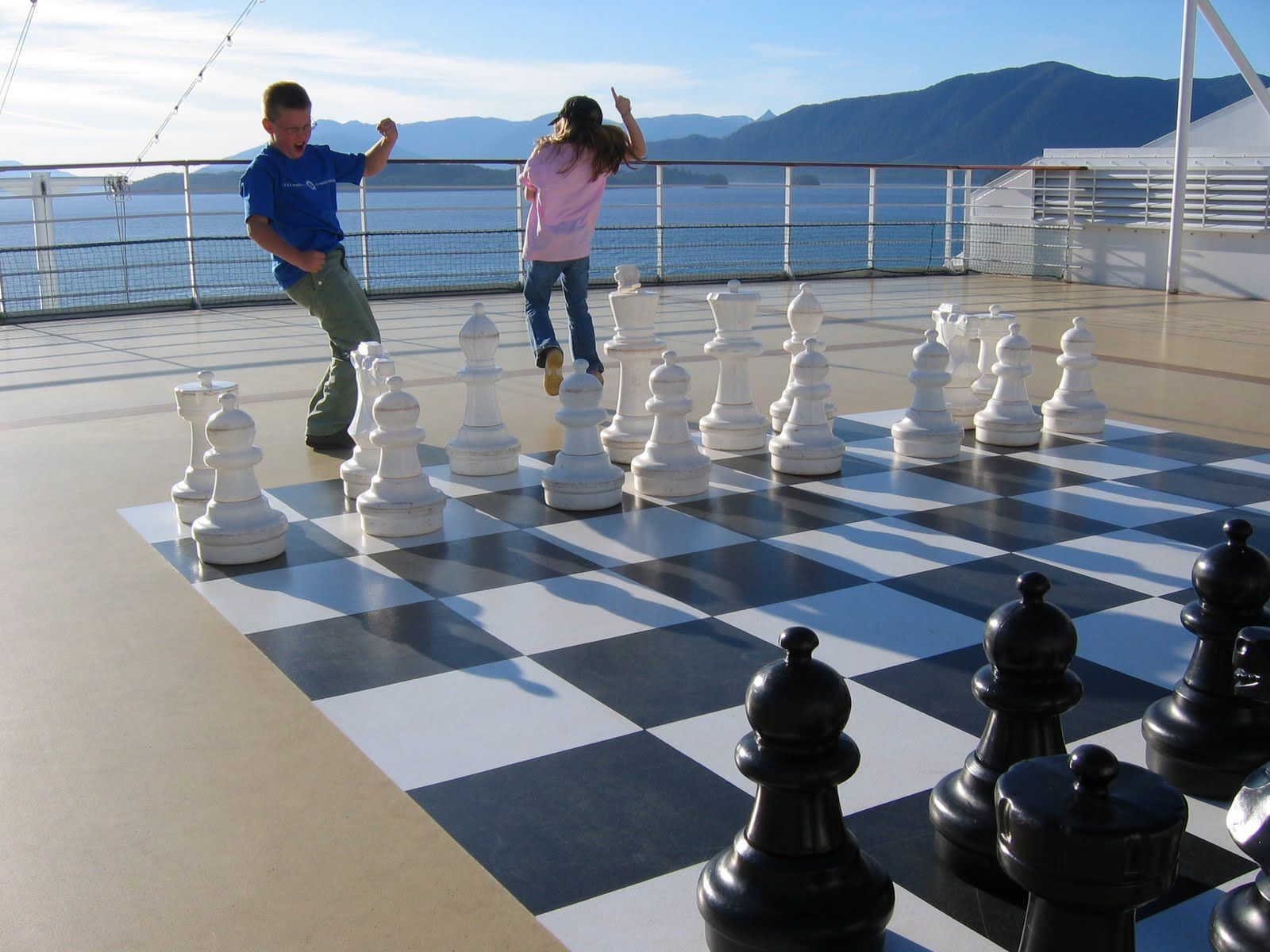 Gotta do this! But I'll need to learn chess before...:)