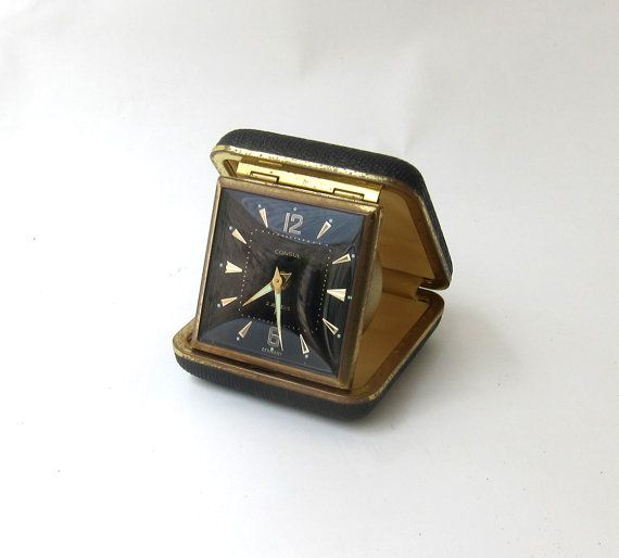 Rare 1960s German Europa black and gold Consul by evaelena on Etsy, $47.00