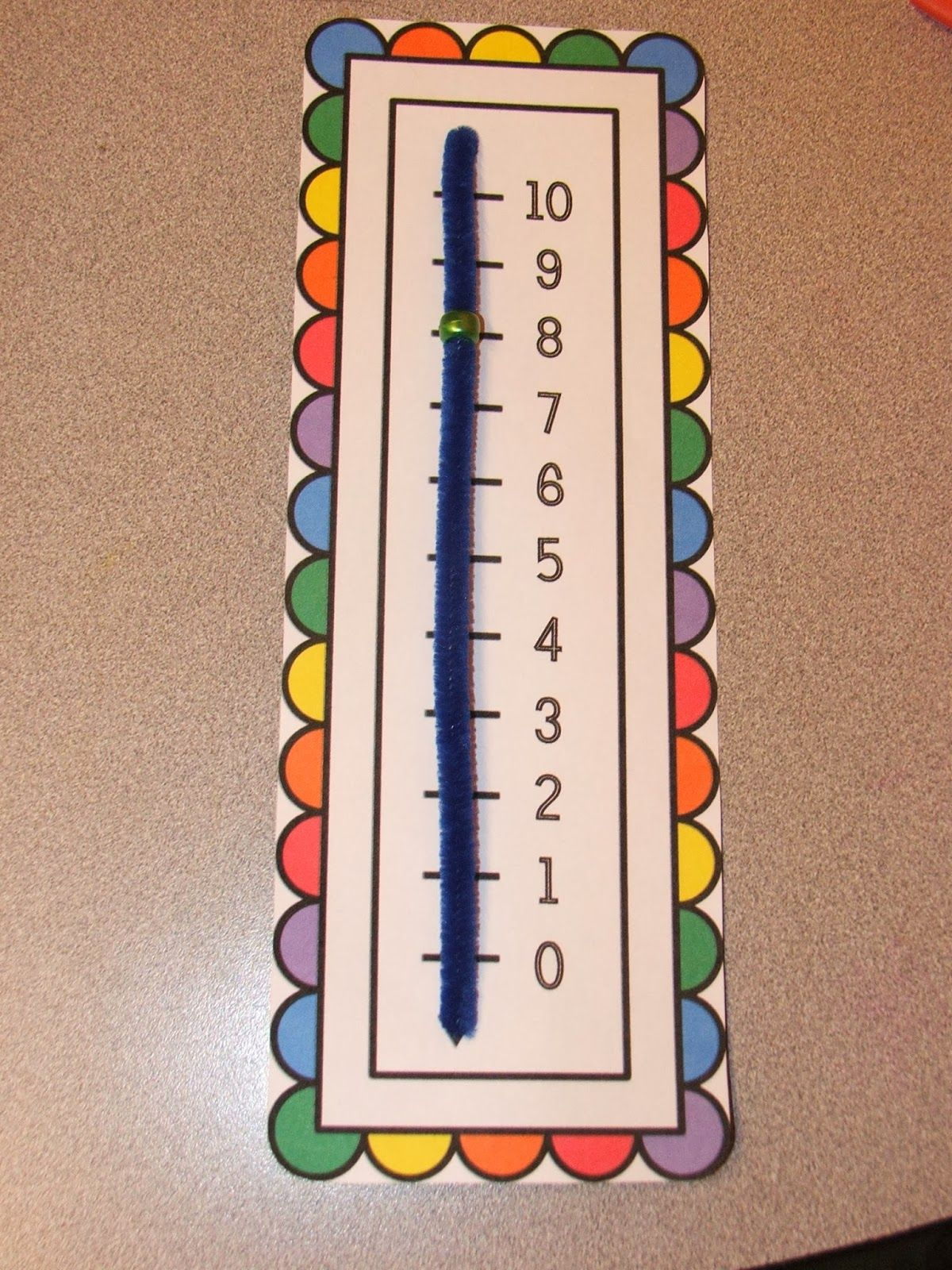 worksheet Make A Number Line free number line download two versions kindergarten math versions