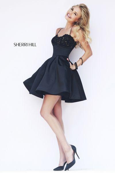 Black Short Homecoming Dresses 2015