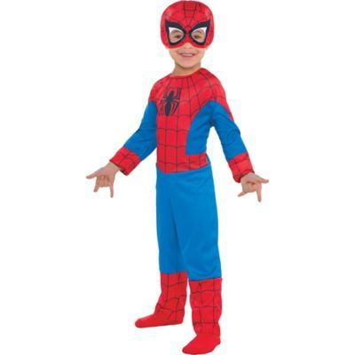 Kids Toddler Boys Classic Spider-Man Costume Size 3-4T Halloween Multi-Colored -   12 disguise a turkey project boy spiderman ideas
