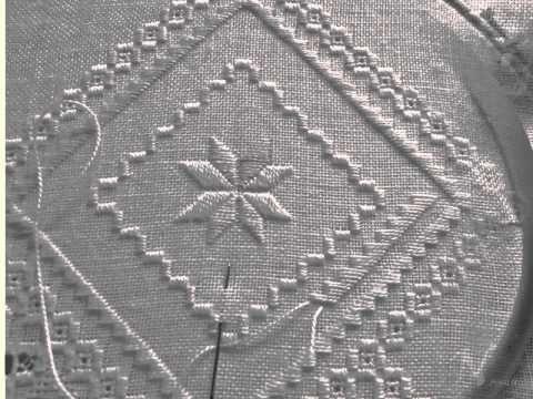 ハーダンガー刺繍の楽しみ My Hardanger embroidery,bordado,broderie,ricamo,stickerei - YouTube