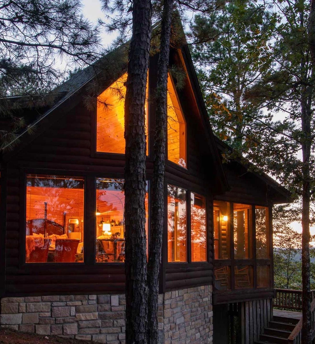 Whispering Heights In 2020 Oklahoma Cabin Rentals Romantic Cabin Cabin