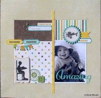 A Project by Tarrah from our Scrapbooking Gallery originally submitted 08/25/12 at 08:28 PM