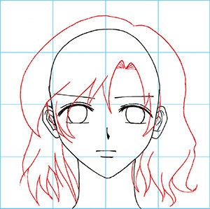 How To Draw Manga The Female Face Drawing A Female Face Anime Art Tutorial Face Drawing Reference Drawing Reference