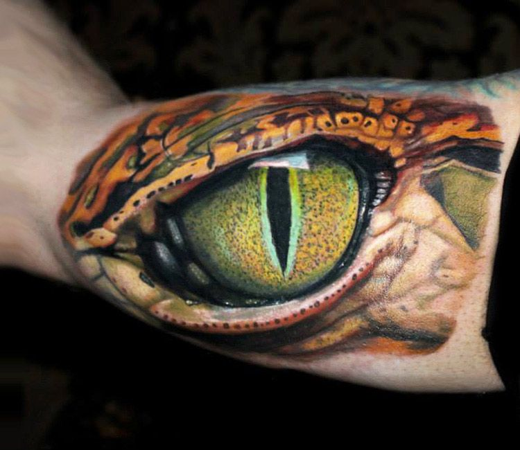 Realistic Animal Tattoo by Dave Paulo​ | Tattoo No. 13165