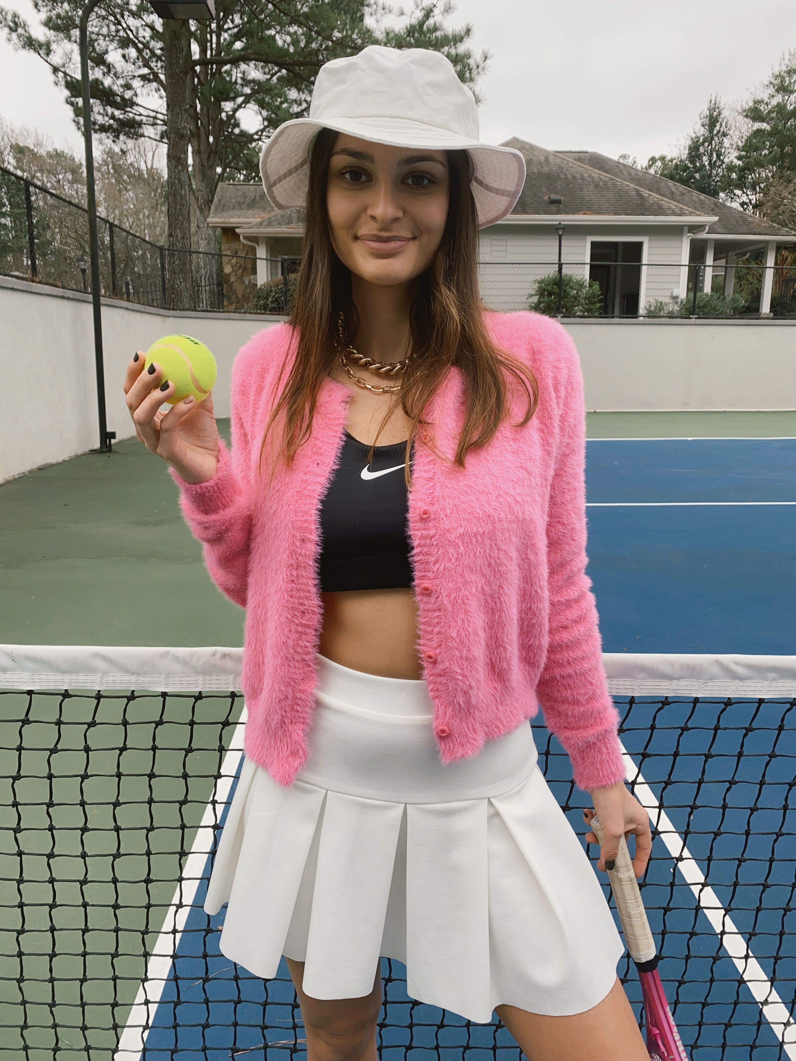 Princess Polly Outfit Cute Tennis Outfit Tennis Skirt Outfit Tennis Skirt White Tennis Skirt [ 4032 x 3024 Pixel ]