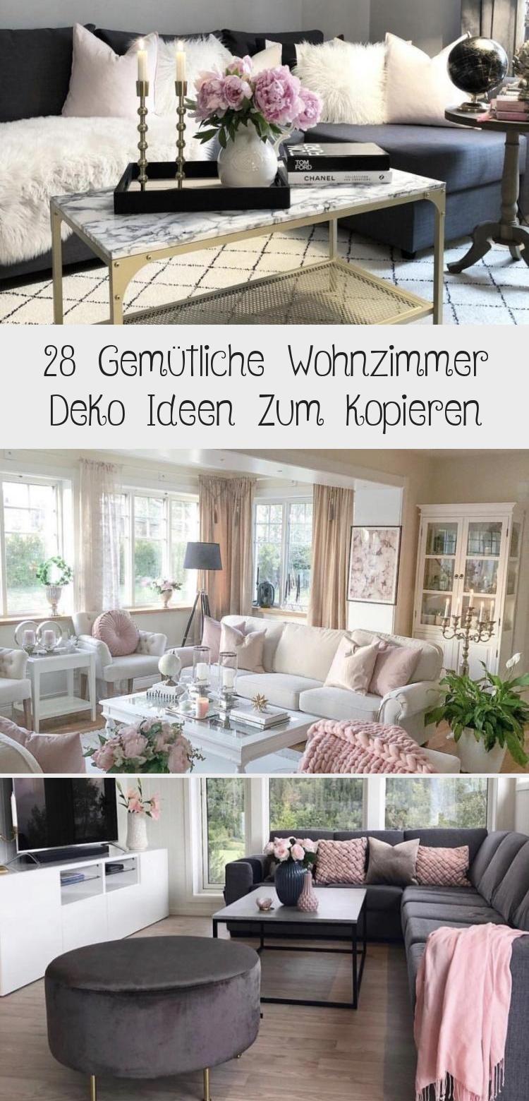 28 Gemutliche Wohnzimmer Deko Ideen Zum Kopieren Dekoideen Gemutliche Ideen Kopieren Wohnzimmer Ideenfurszimmer In 2020 Decor Furniture Home Decor