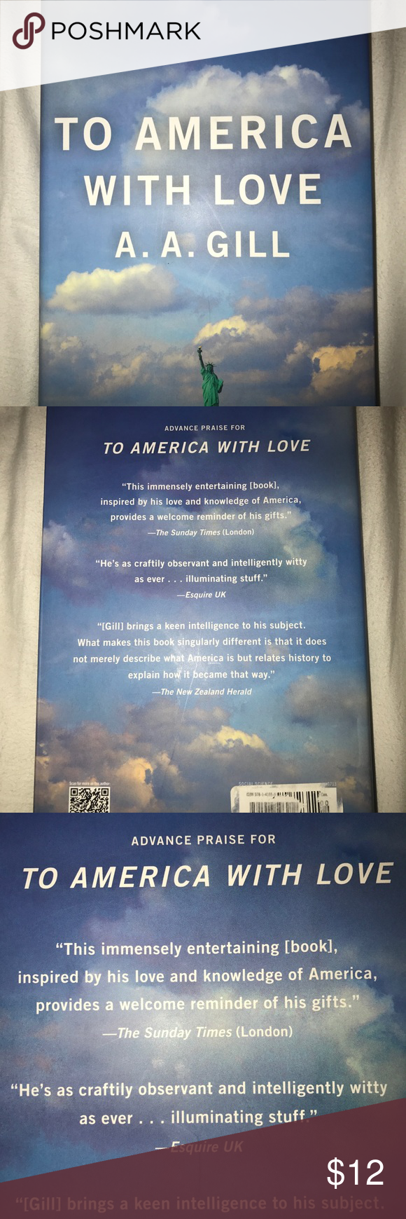 "To America with Love by A. A. Gill BOOK To America with Love by A. A. Gill  ""A celebrated British provocateur and Vanity Fair columnist serves up an ""immensely entertaining book inspired by his love and knowledge of America"" (Sunday Times, London). Books Other"