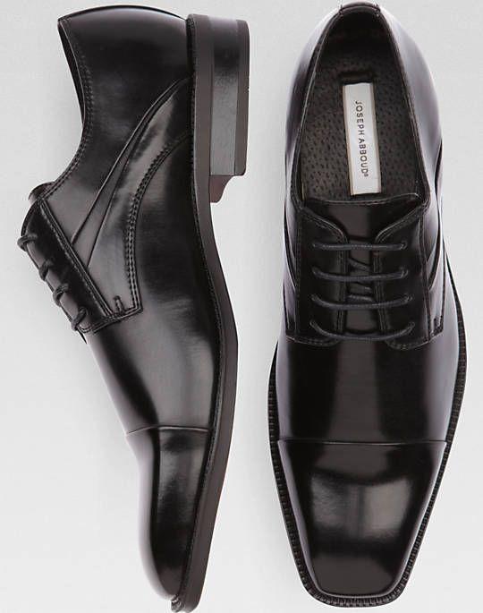 b118c07f67 Joseph Abboud Mirage Black Lace-Up Shoes | Men's Wearhouse | Men's ...