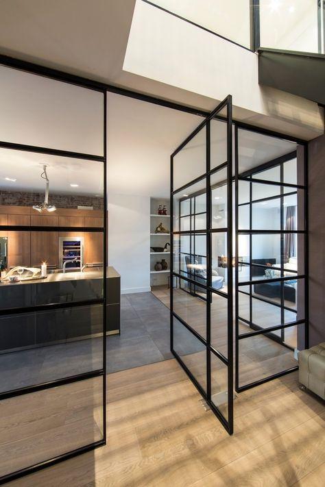 ▷ 1001 + idées pour la cuisine ouverte avec verrière Lofts