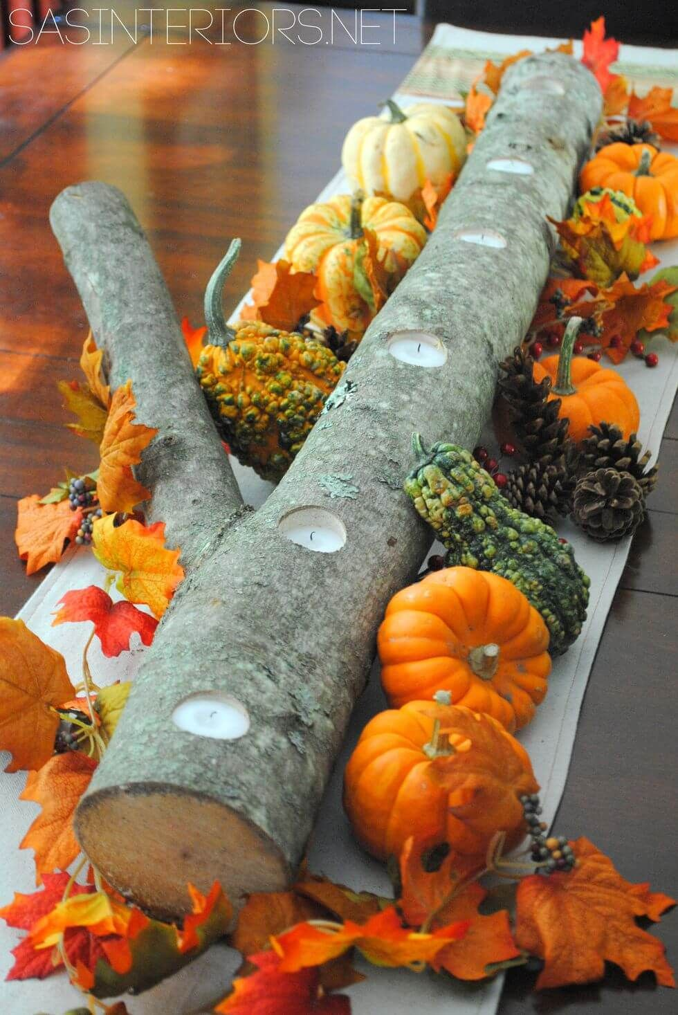 28+ Stunning DIY Fall Centerpiece Ideas 2019 - FarmFoodFamily images
