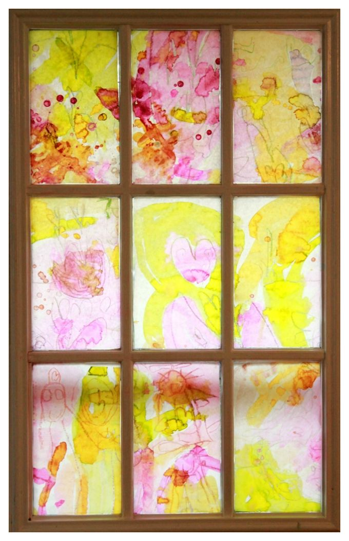 A Beautiful Spring Art Project For Kids