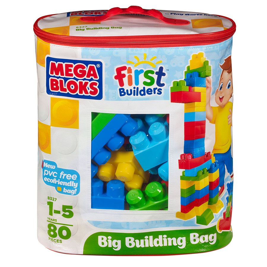 Mega Bloks Maxi Bag 80 Pieces