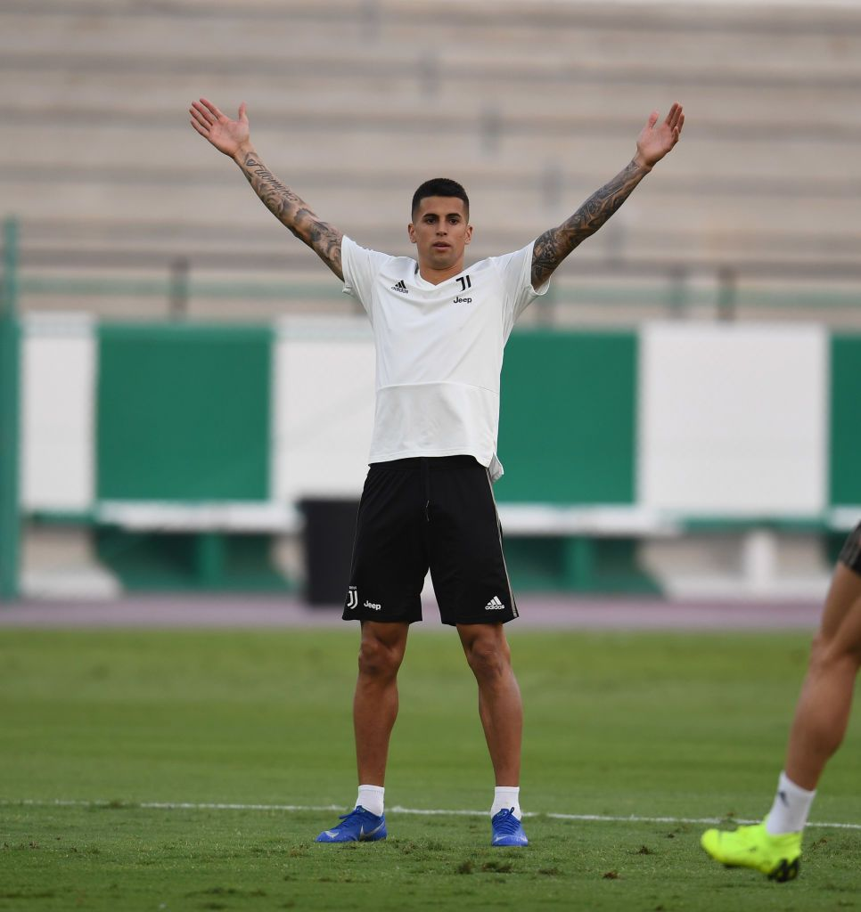 JEDDAH, SAUDI ARABIA - JANUARY 15: Joao Cancelo of Juventus in ...