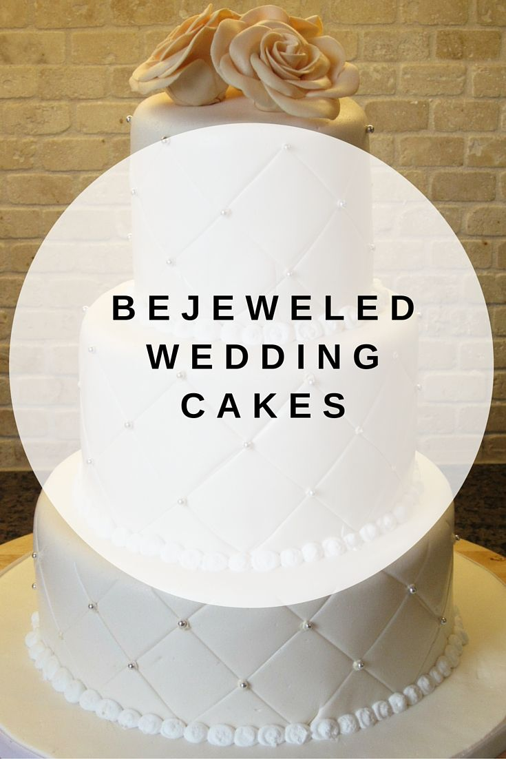 Sparkling with faux gems, diamonds and pearls, these cakes make for ...