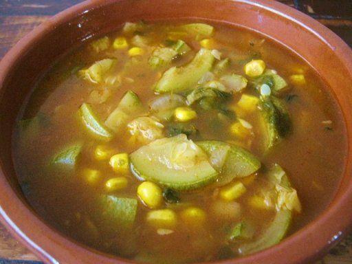 Resultado de imagen para sopa de calabaza y elote