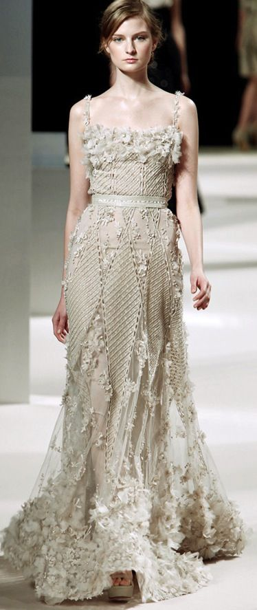 elie-saab-couture-spring-2011.... wedding dress, anyone?