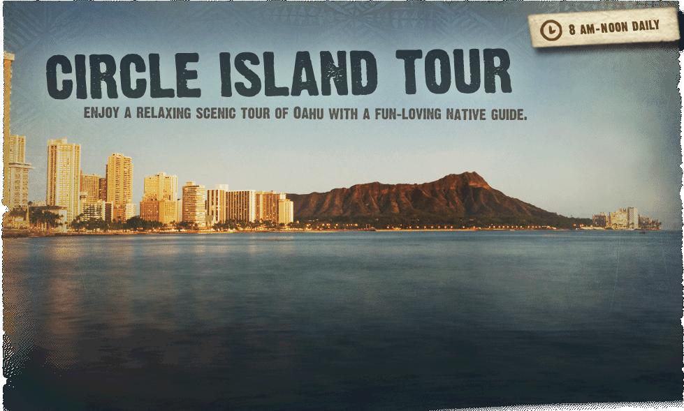 Circle Island Tour Oahu Polynesian Cultural Center