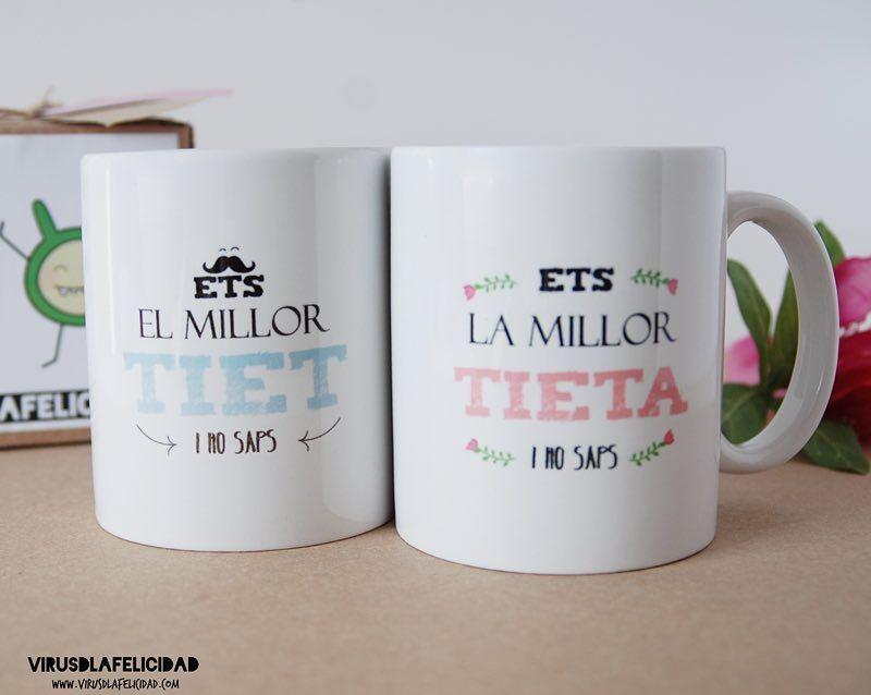 Tazas para los mejores tíos y tías en castellano y catalán ...