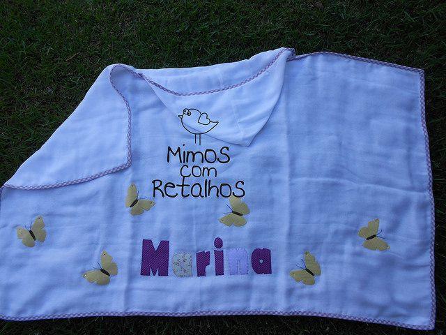 Toalha de Banho | por Mimos com Retalhos by Léia