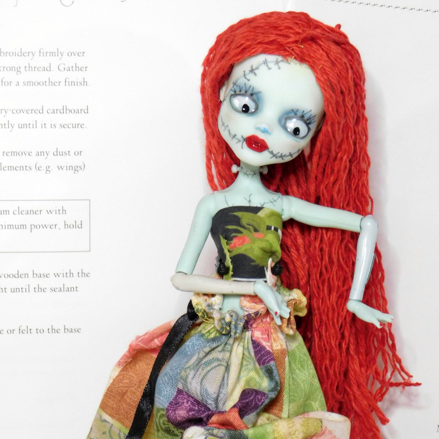 Sally Doll Get Well Gift Tim Burton\'s Christmas Nightmare or Mothers ...