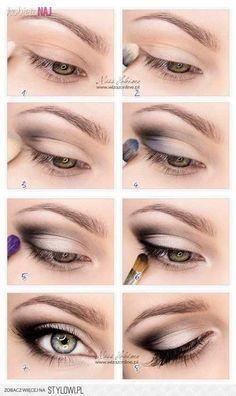 Eye Makeup Ideas For Brown Eyes Middle Aged Google Search Hooded Eye Makeup Tutorial Hooded Eye Makeup Eye Makeup