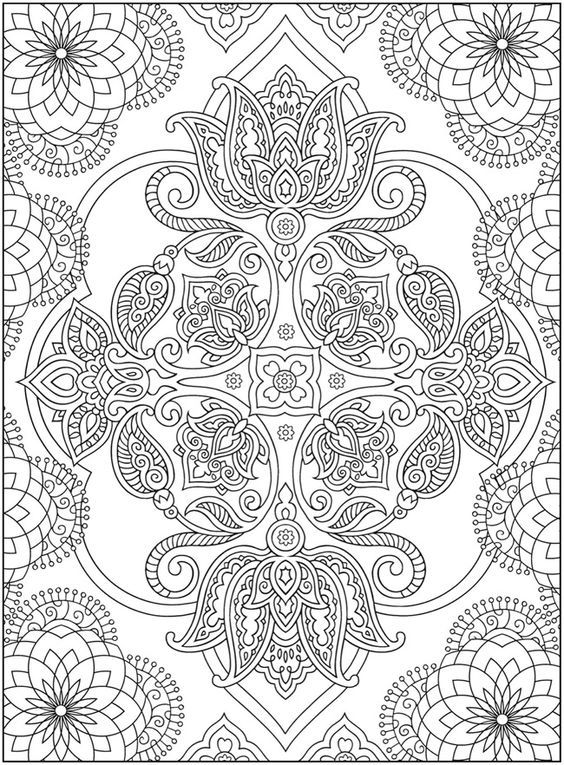 Welcome to Dover Publications Creative Haven Mehndi Designs ...