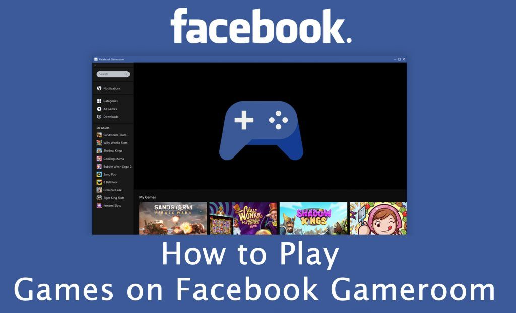 How to Play Games on Facebook Gameroom   Facebook   Free,roid games