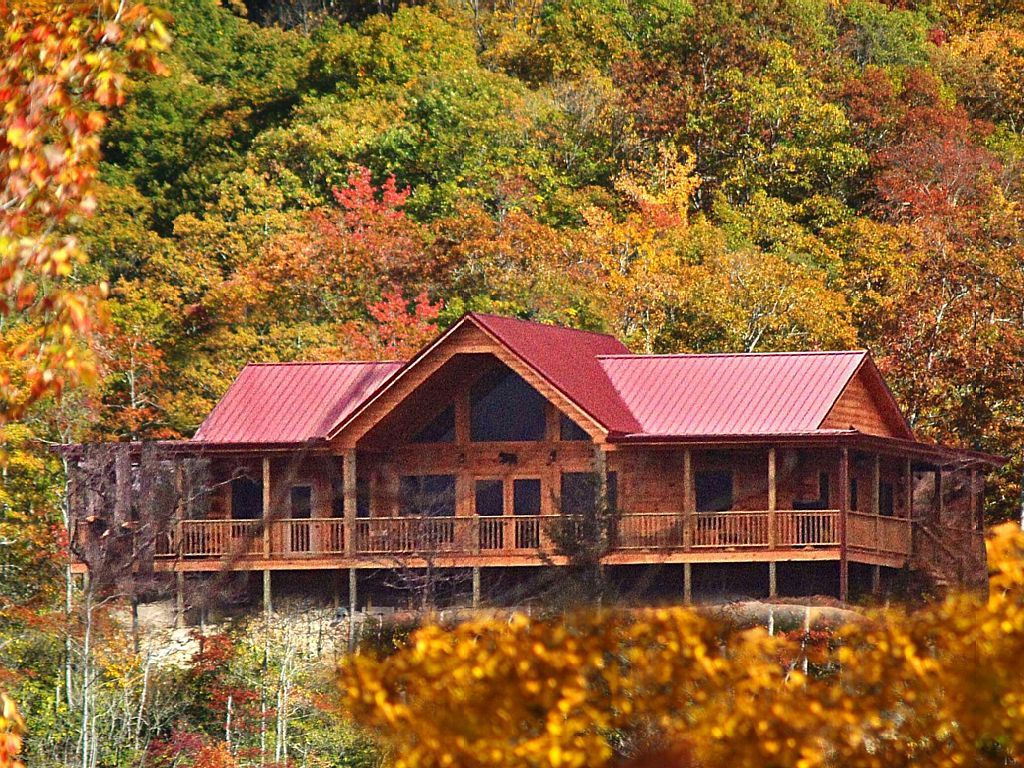 the see cabins great in cabin tour luxury this rental rent for lake virtual smokies fontana mountain smoky watch