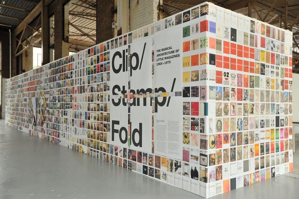 Clip Stamp Fold Exhibition Exhibition Design Architectural Practice Urban Planning