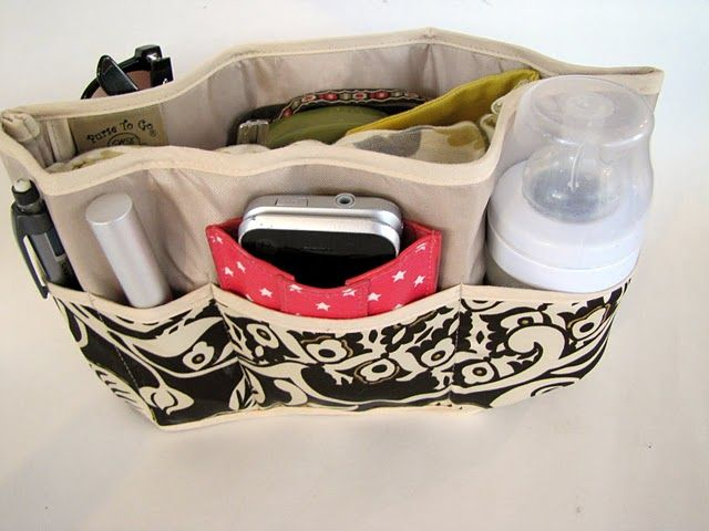 Purse Organizer - not that I would need one, but it's pretty cool.