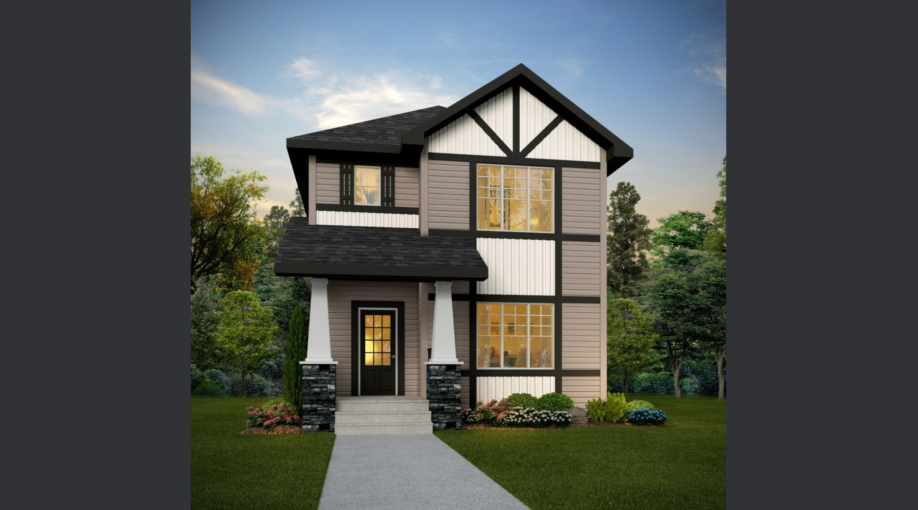 Eastwood 1352 sq ft 3 bed 2.5 bath Home Style Laned