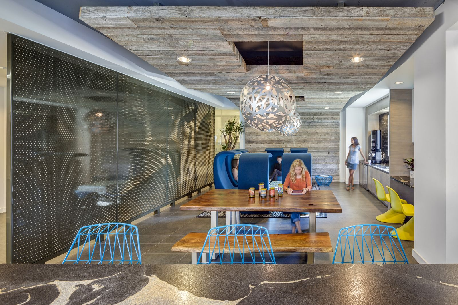 The Hesby Multi Use Space Commercial Interior Design By H Hendy Associates Vitra Commercial Interior Design Modern Office Decor Interior Design Concepts