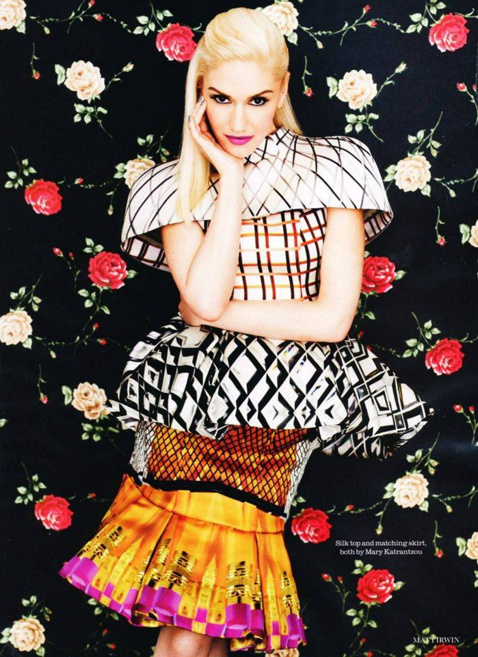 Gwen Stefani for Elle UK