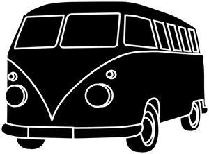 30+ Van Clipart Black And White