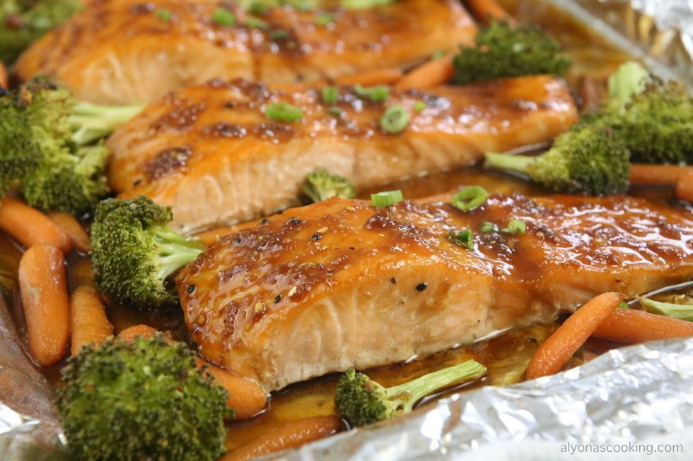 Teriyaki Glazed Salmon Recipe (One Pan Meal) #salmonteriyaki Teriyaki Glazed Salmon Recipe (One Pan Meal) #salmonteriyaki Teriyaki Glazed Salmon Recipe (One Pan Meal) #salmonteriyaki Teriyaki Glazed Salmon Recipe (One Pan Meal) #salmonteriyaki