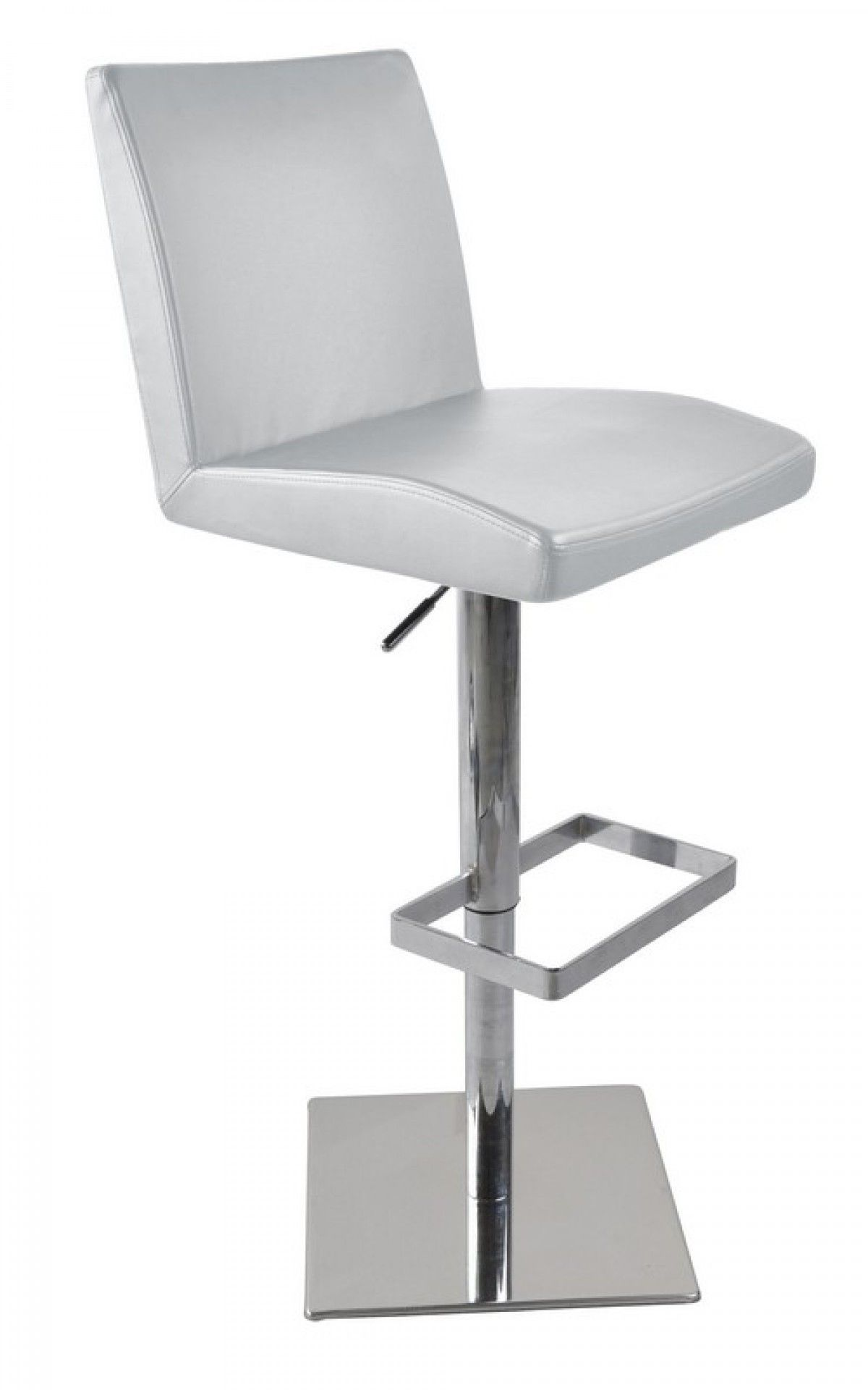 Modrest Modern White Eco Leather Bar Stool Vgcbt1068cn Whtproduct 16172 Features Color Whiteeco Leatherstainless Steel Swivel Base With Bar Stools Stool Leather Bar Stools
