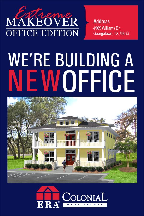 new  realestate  office  announcement