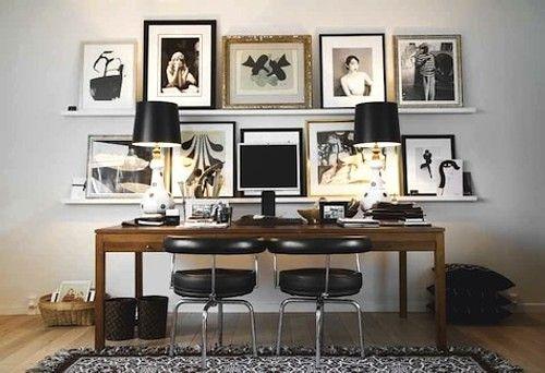 oficina : Ideas para Decoración de Oficinas y Despachos: Cuadros ...