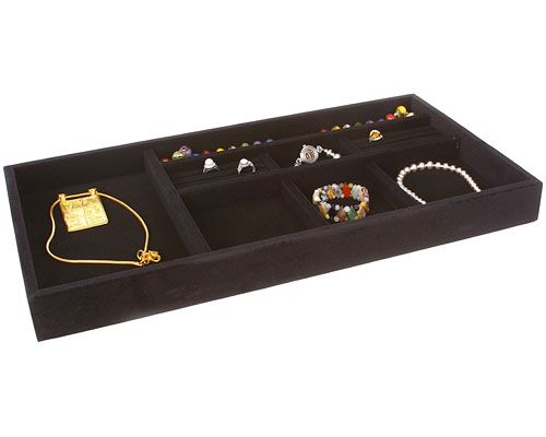 Organize and display your treasured jewelry pieces in a gorgeous 21