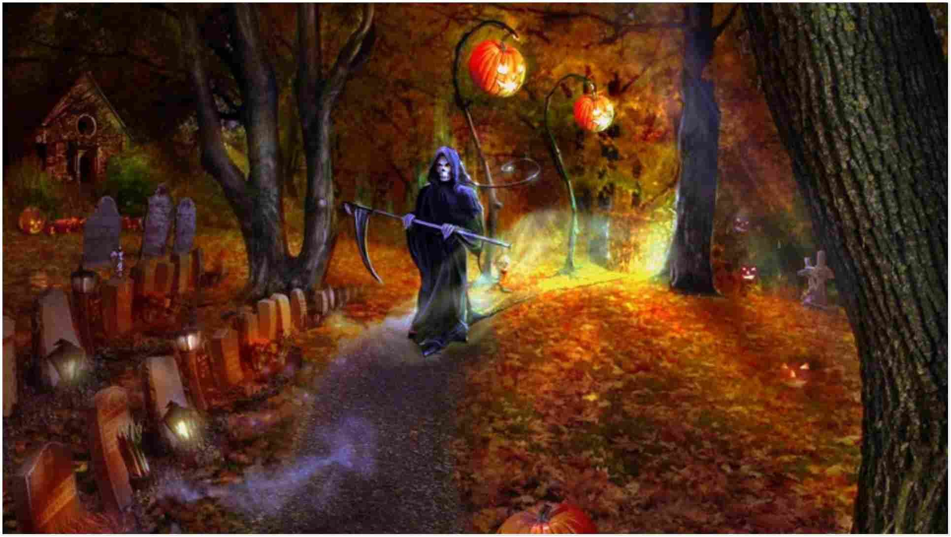Top 15 Halloween Hd Wallpapers In 2020 Halloween Wallpaper Halloween Desktop Wallpaper Halloween Backgrounds
